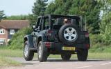 Jeep Wrangler convertible