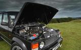 JIA Chieftain Range Rover engine bay
