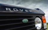 JIA Chieftain Range Rover badging