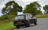 JIA Chieftain Range Rover rear cornering