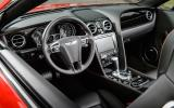 Bentley Continental GTC V8 S interior