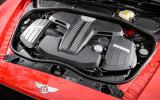 521bhp Bentley Continental GT V8 S engine