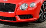 Bentley Continental GTC V8 S front air scoop