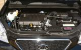 Kia Carens engine bay