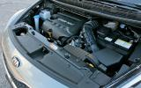 1.7-litre Kia Carens diesel engine