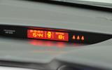 Kia Cee'd information display