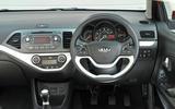 Kia Picanto dashboard