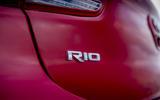 Kia Rio badging