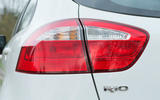 Kia Rio rear lights