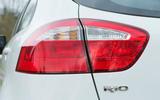 Kia Rio rear lights