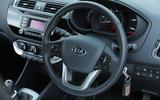 Kia Rio steering wheel