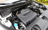 2.2-litre Kia Sorento diesel engine