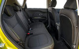 Kia Soul rear seats
