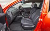 Kia Sportage front seats