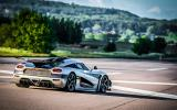 Koenigsegg One:1 rear cornering
