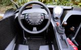 KTM X-Bow dashboard