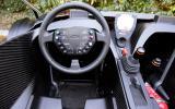 KTM X-Bow dashboard