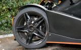 KTM X-Bow black alloy wheels