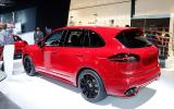 Porsche reveals new Cayenne GTS before LA debut