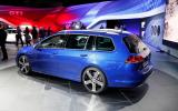 Volkswagen reveals hot Golf R estate