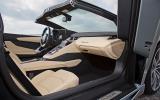 Lamborghini Aventador Roadster interior
