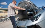 Lamborghini Aventador Roadster boot space