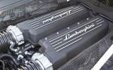 Lamborghini's V10 petrol engine