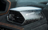 Lamborghini Huracán Performante carbonfibre interior trim