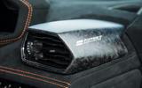 Lamborghini Huracán Performante carbonfibre interior trim