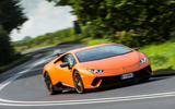 Lamborghini Huracán Performante cornering