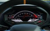 Lamborghini Huracán Performante Corsa instrument cluster