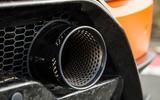 Lamborghini Huracán Performante sports exhaust system