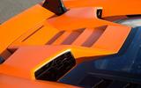 Lamborghini Huracán Performante engine air intake