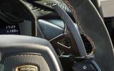 Lamborghini Huracán Performante paddle shifters