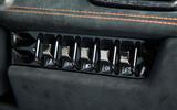 Lamborghini Huracán Performante switchgear