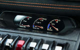 Lamborghini Huracán Performante temperature dials