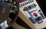 Lamborghini Aventador Roadster centre console