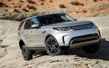 Land Rover Discovery axle articulation