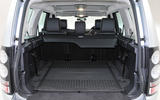 Land Rover Discovery boot space