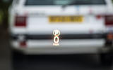 Land Rover Discovery heads-up display