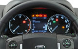 Land Rover Discovery instrument cluster