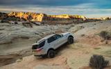 Land Rover Discovery climbing