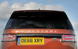 Land Rover Discovery rear door