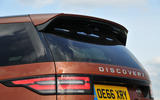 Land Rover Discovery roof spoiler