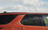Land Rover Discovery tapered roofline