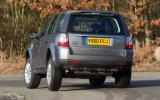 Land Rover Freelander rear cornering