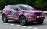Range Rover Evoque in testing