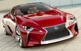 Detroit show: Lexus LF-LC concept