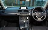 Lexus CT dashboard