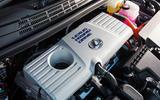 Lexus CT engine bay